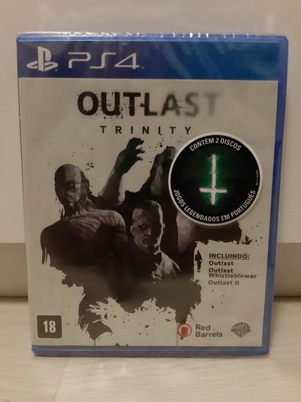 Outlast - Trinity | P/ Playstation 4 | Lacrado - Novo