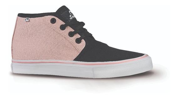 Zapatillas De Mujer Loica Invert Rose Lona