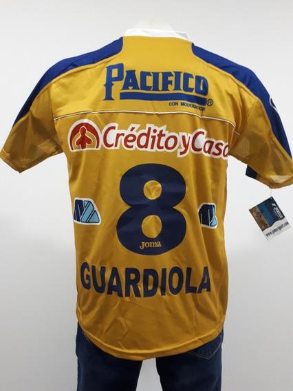 Jersey Pep Guardiola 8 Dorados Sinaloa 2006 Joma Tercer Unif