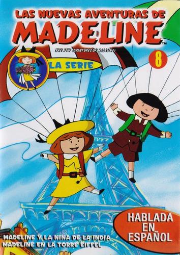 Imagen 1 de 3 de Las Nuevas Aventuras De Madeline Volumen 8 Ocho Serie Dvd