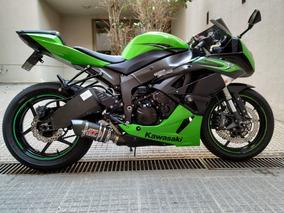 Kawasaki Zx 6r 2011 Impecable