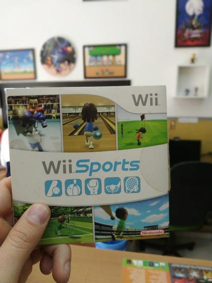 Jogo Wii Sports Para Nintendo Wii Original Semi Novo