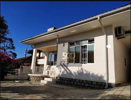 Casa Com 5 Dormitórios À Venda, 290 M² Por R$ 739.000,00 - Capoeiras - Florianópolis/sc - Ca0519