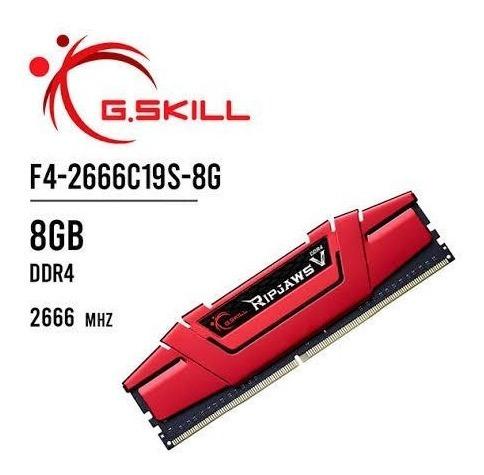 Memoria Ram 8gb Ddr4 Gskill 2666mhz Gamer