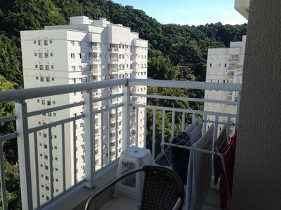 Apartamento Em Marapé, Santos/sp De 64m² 2 Quartos À Venda Por R$ 430.000,00 Ou Para Locação R$ 2.450,00/mes - Ap83550lr