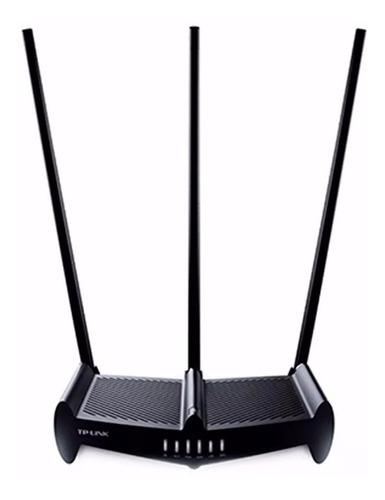 Router Wifi Tplink 450mbps 9dbi Rompemuros Real Alcance Nnet