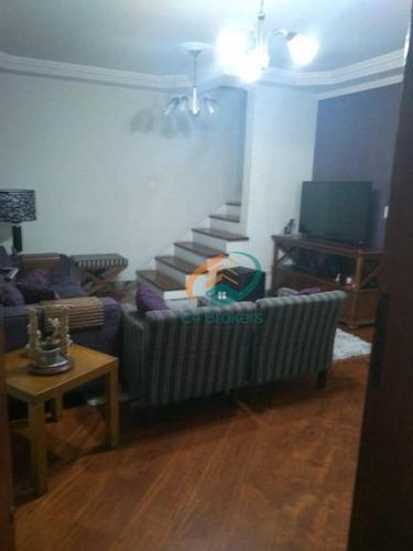 Imagem 1 de 19 de Sobrado À Venda, 191 M² Por R$ 830.000,00 - Jardim Santa Clara - Guarulhos/sp - So0195