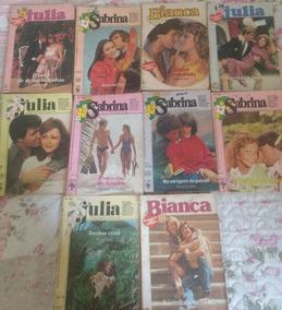 Lote Com 40 Livros - Julia,sabrina,bianca Florzinha Antigo