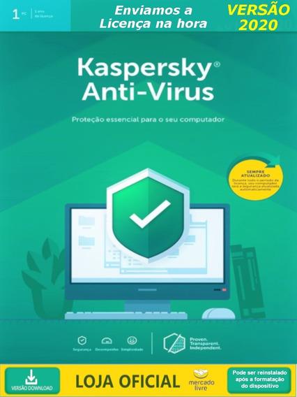 Kaspersky Anti Virus - 1 Usuario 2019