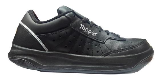 Zapatillas Topper Xforcer Cuero Vacuno ¡¡envío Gratis!!