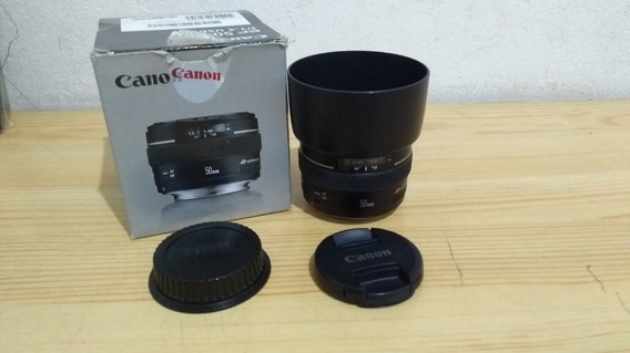 Lente 50mm 1.4 Canon