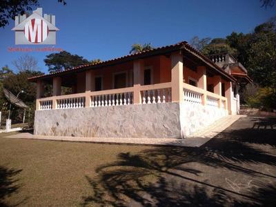 Linda Chácara Com Escritura, 04 Dormitórios À Venda, 1420 M² Por R$ 350.000 - Zona Rural - Pinhalzinho/sp - Ch0485