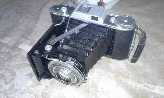 Antiga Camera Fotográfica Agfa Billy Record