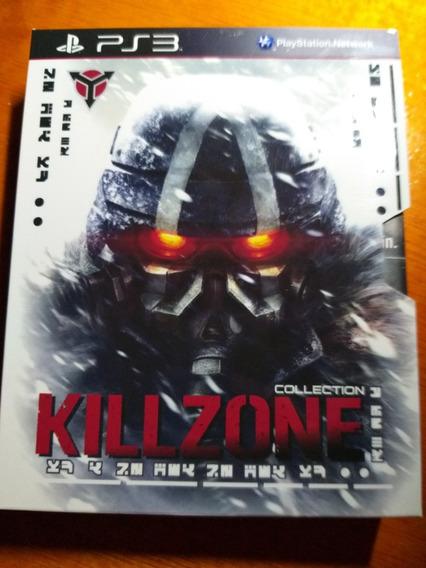 Killzone 2 E 3 + Box De Colecionador Midia Fisica Ps3
