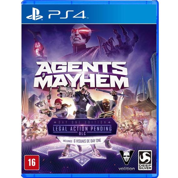 Jogo Agents Of Mayhem - Ps4 Midia Fisica