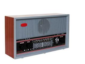 Radio Retro Antigo Madeira Imperador 6 Faixas Vintage