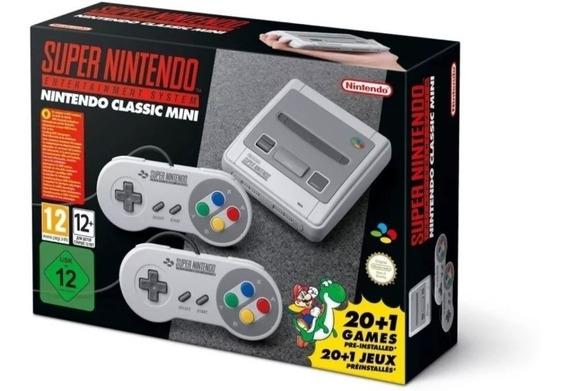 Super Nes Snes Clássic Edition Super Nintendo Mini Europeu.
