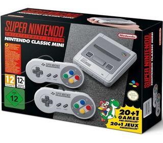Consola Mini Super Nintendo Classic Edition Snes + 21 Juegos