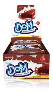 Dom Protein Bar Nutritiva X 12 Unid Gentech Tienda Oficial