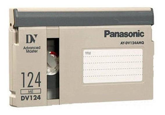 Fita De Video Panasonic Ay Dv124 Amq