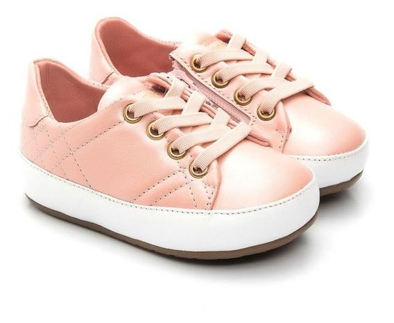 Tênis De Bebê Glitter Rosa - Gambo