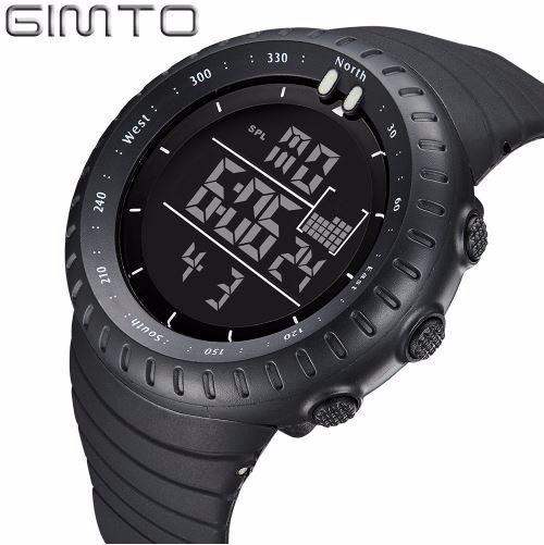 Relógio Mergulho/ Choque Gimto Digital Led/ Relogio Militar