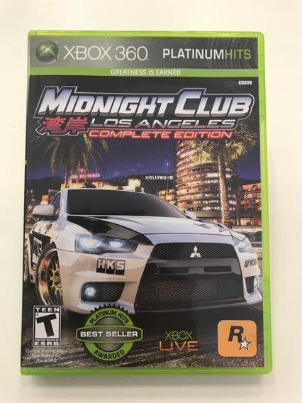 Midnight Club Los Angeles Xbox 360