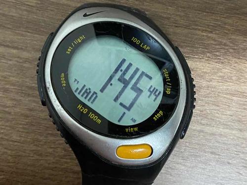 Nike Wr 0127 Quartz Digital Func S/ Pulseira Leia 01445