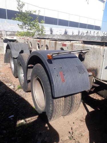 Carreta Porta Container Bug 40 Pes Com Pneus