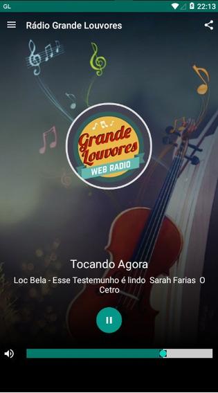 App Android Para Rádio Web Rádio + Google Play