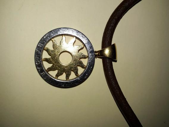 Collar Bulgari En Oro Y Acero