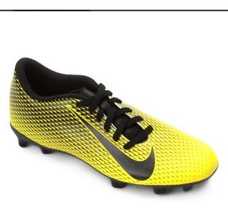 Chuteira Nike Bravata Ii Campo Amarelo/preto