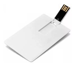 50 Pen Drive Cartão 8gb Sem Personalização
