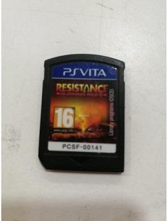 Resistance Para Ps Vita Psvita Sony