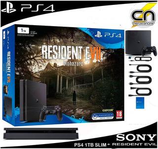 Playstation®4 1tb Slim + Resident Evil Oferta!!!!