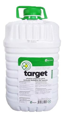 Atrativo Target Biológico Armadilha De Moscas Galão 5 Litros