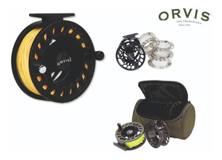 Orvis Clearwater Cassette Fly Reel Iv Para Lineas #6/8