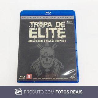 Filme Blu-ray Tropa De Elite: Missão Dada É Missão Cumprida