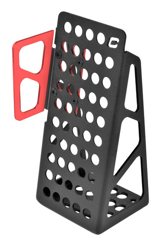 Imagen 1 de 3 de Apoya Pie Aluminio Para Pedalera De Competición Collino
