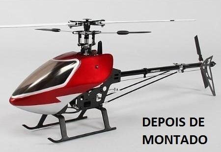 Helicoptero Hk450 Hk 450 Gt Pro Fibra Carbono Arf Masteruz