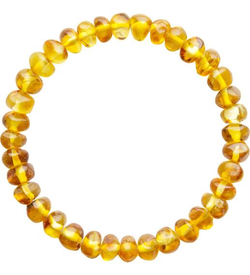 Pulseira Bracelete Adulto Unissex Âmbar Natural Original