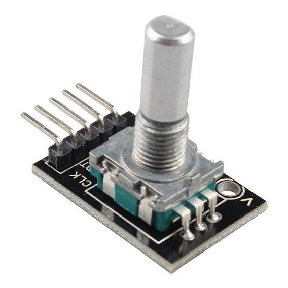 Encoder Decoder Rotativo Ky-040 Ky 040 Arduino Pic Raspberry