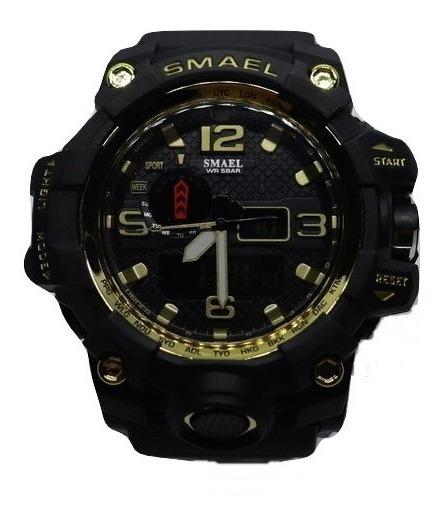 Relógio Masculino Smael Militar Esportivo Modelo 1545
