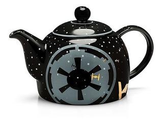 Star Wars Tetera De Ceramica 32 Oz Imperio Nueva Importada