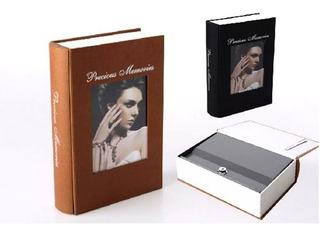 Libro Camuflaje Caja Fuerte Con Llave 24cm Varios Modelos