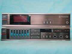 Vintage 80s Pre + Ampli Aiwa Gx-120 & Bx-120 Made In Japan