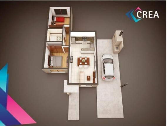 Casa A Estrenar! 2 Dormitorios Con Jardin.