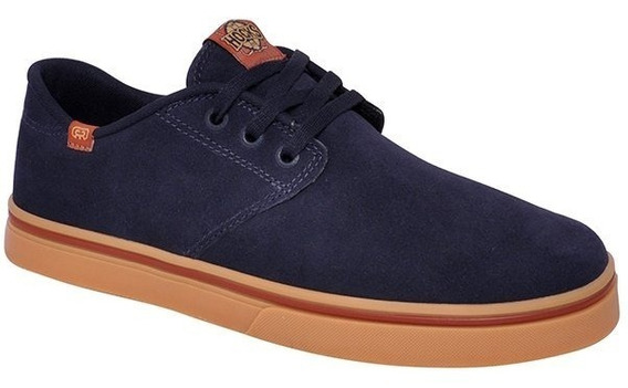 Tênis Masculino Hocks Del Mar Originals R1003 Navy/cobre