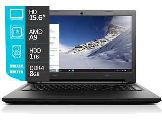 Notebook Lenovo Amd A9 8gb 1tb 15.6 Radeon R5 Mexx