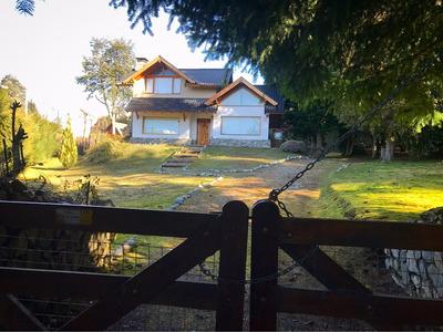 Cabaña Con Bosque, Vista Lago Y Cerros En Villa La Angostura
